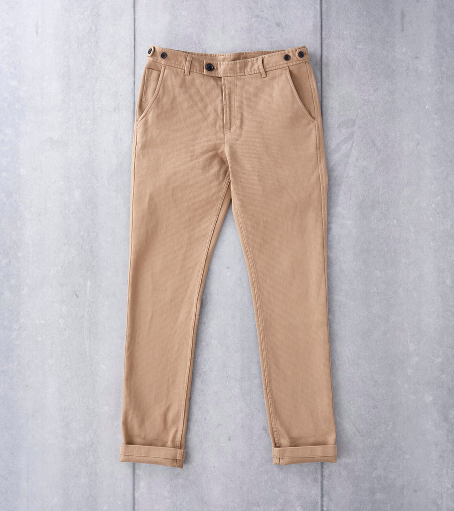 Rugged Japanese Twill Chino - Khaki
