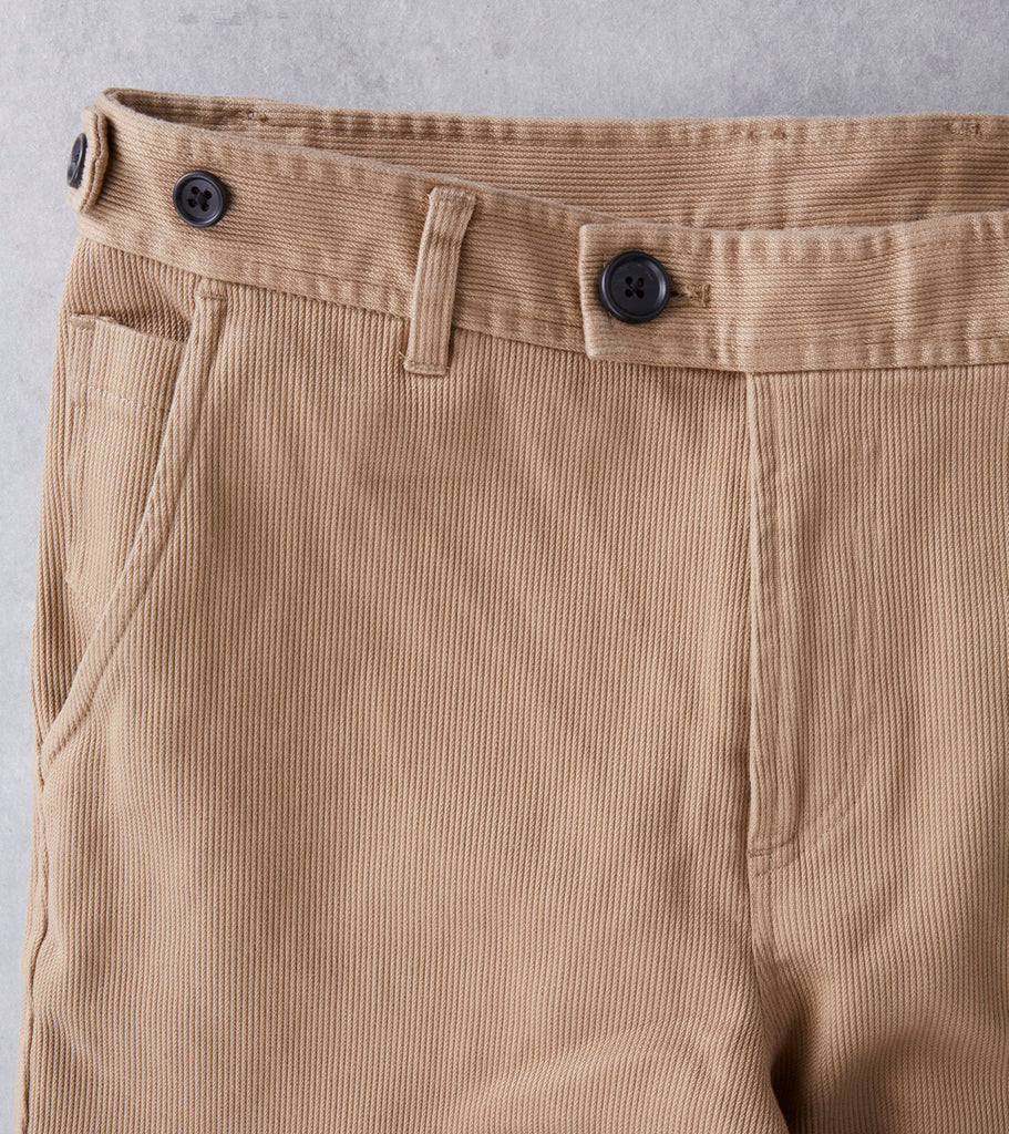 Corridor NYC Rugged Japanese Twill Chino - Khaki Divison Road