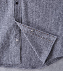 Iron Heart 209-GRY - Western - 9oz Brushed Herringbone Flannel - Grey Division Road