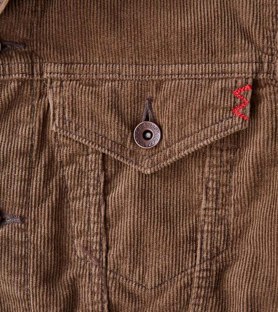 Iron Heart 70-J - Modified Type III - 13w Corduroy Brown