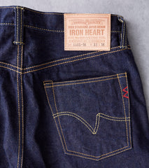 Iron Heart 666S - Slim Straight - 16oz Vintage Indigo Division Road