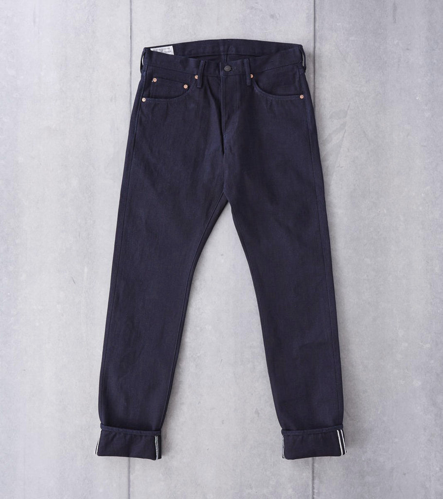 Studio D'Artisan - G-004 - Tight Tapered Deep Indigo G3 Series Division Road