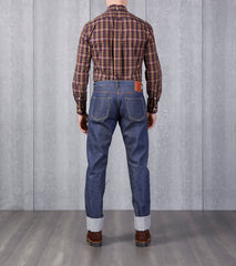 Studio D'Artisan - SD-D07 - Natural Indigo Super Tight Straight Division Road