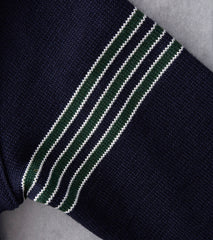 Dehen 1920 IVY Street Football Sweater - Navy Division Road