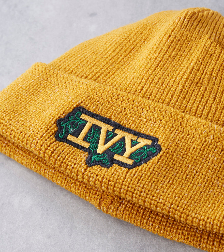 Dehen 1920 IVY Street Knit Watch Cap - Old Gold Division Road