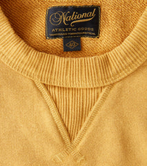 National Athletic Goods - Single V Warm Up Sweatshirt - Old Gold - Division Road