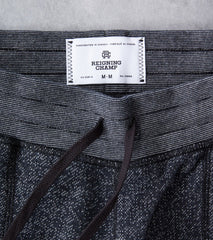 Reigning Champ Tiger Fleece Slim Sweatpant - Black Division Road