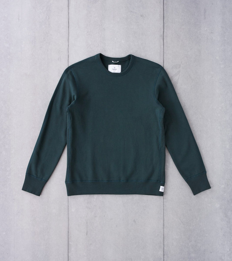 Reigning Champ Crewneck Sweatshirt - Forest Division Road