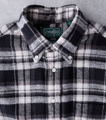 Gitman Vintage Colorado Triple Yarn Flannel - Black Division Road