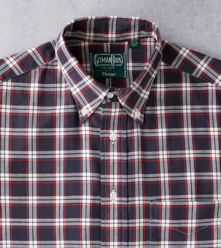 Gitman Vintage x DR Deconstructed Plaid Hopsack - BWR Division Road