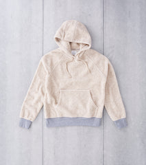 Home Work Berber Hooded Pullover - Oatmeal Division Road