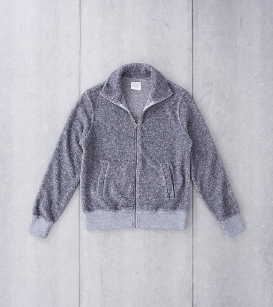 Home Work Berber Track Jacket - Grey Division Road