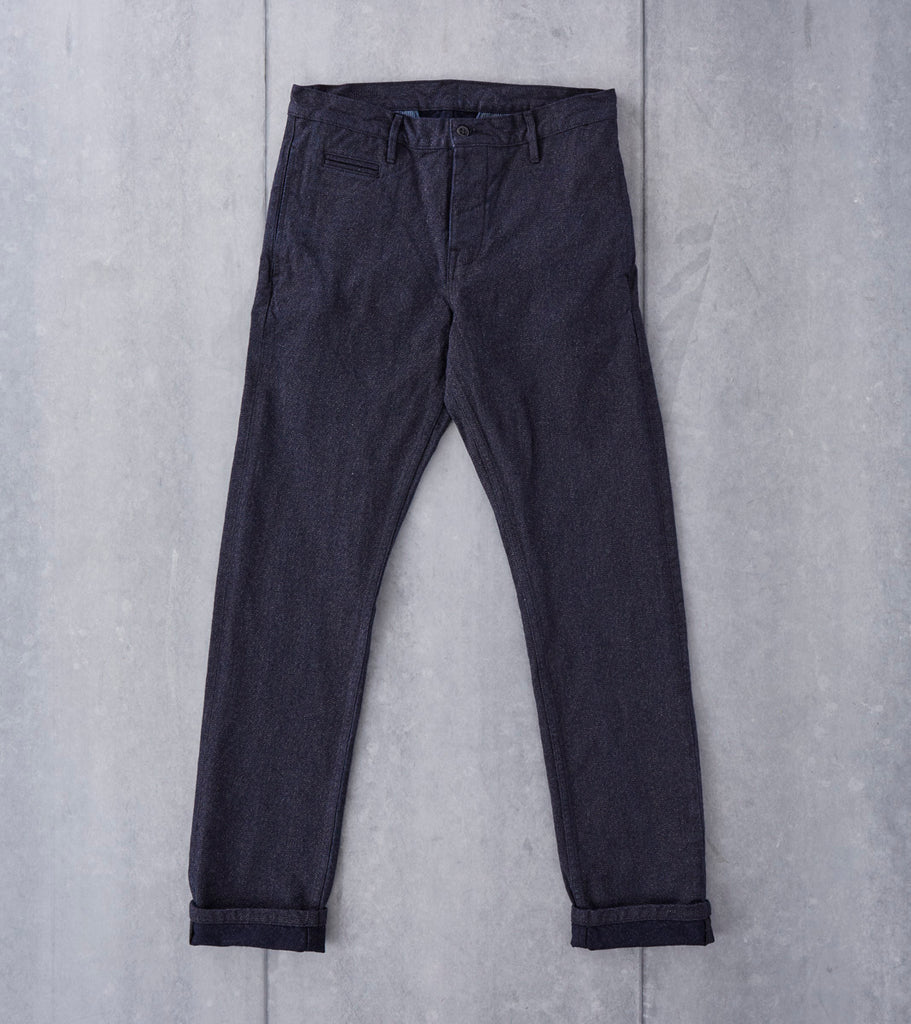 Left Field NYC Coal Miner - Japanese Twill - Salt & Pepper Division Road