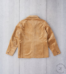 Division Road x MotivMfg MOTIV English Hunt Work Jacket - B.Moss Fawn Corduroy
