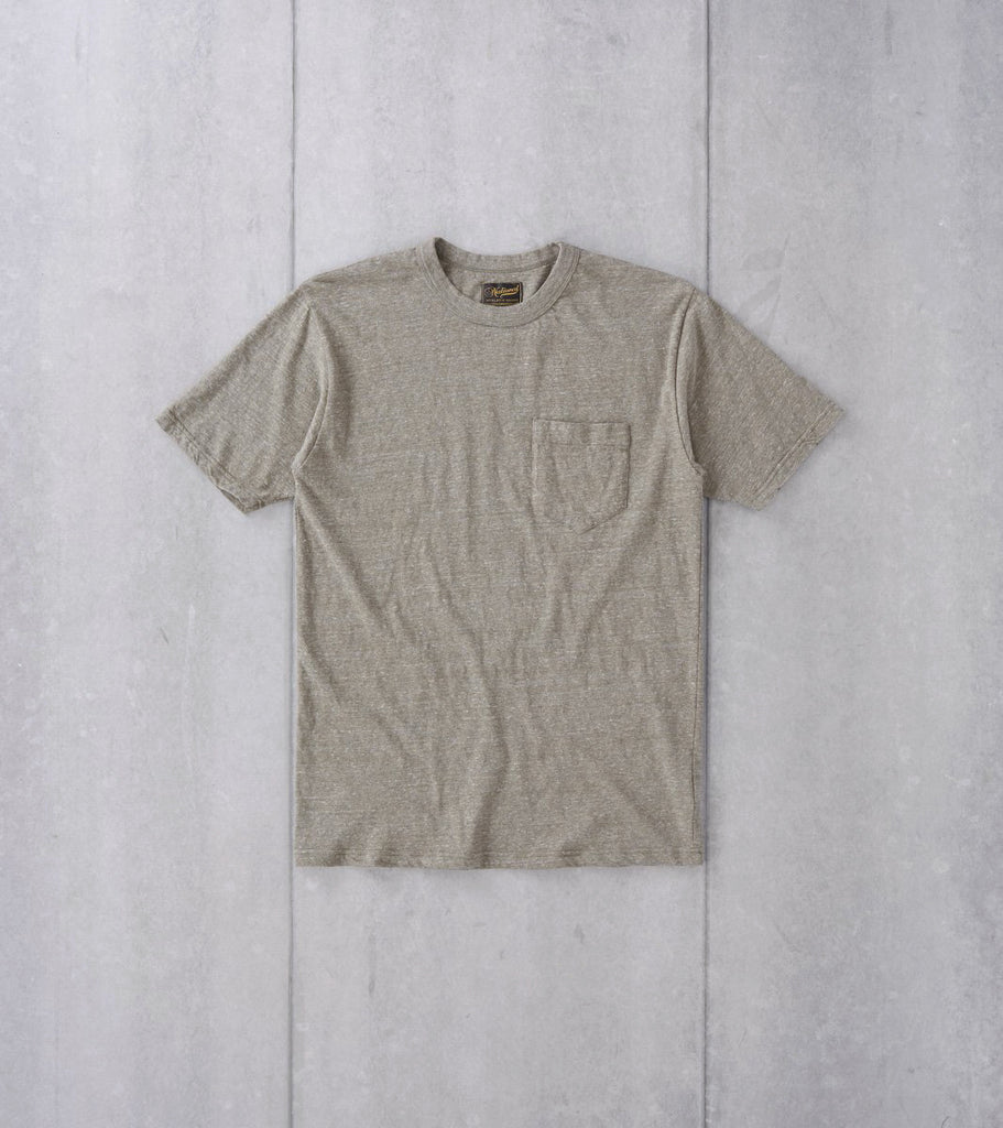 National Athletic Goods - Pocket Tee - Sage