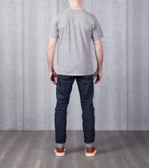 National Athletic Goods - Athletic Tee - Sport Grey Division Road