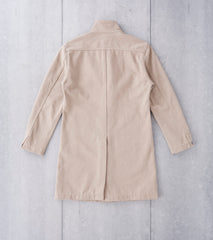 Nine Lives Fisherman Chino Duster Coat - Beige Division Road