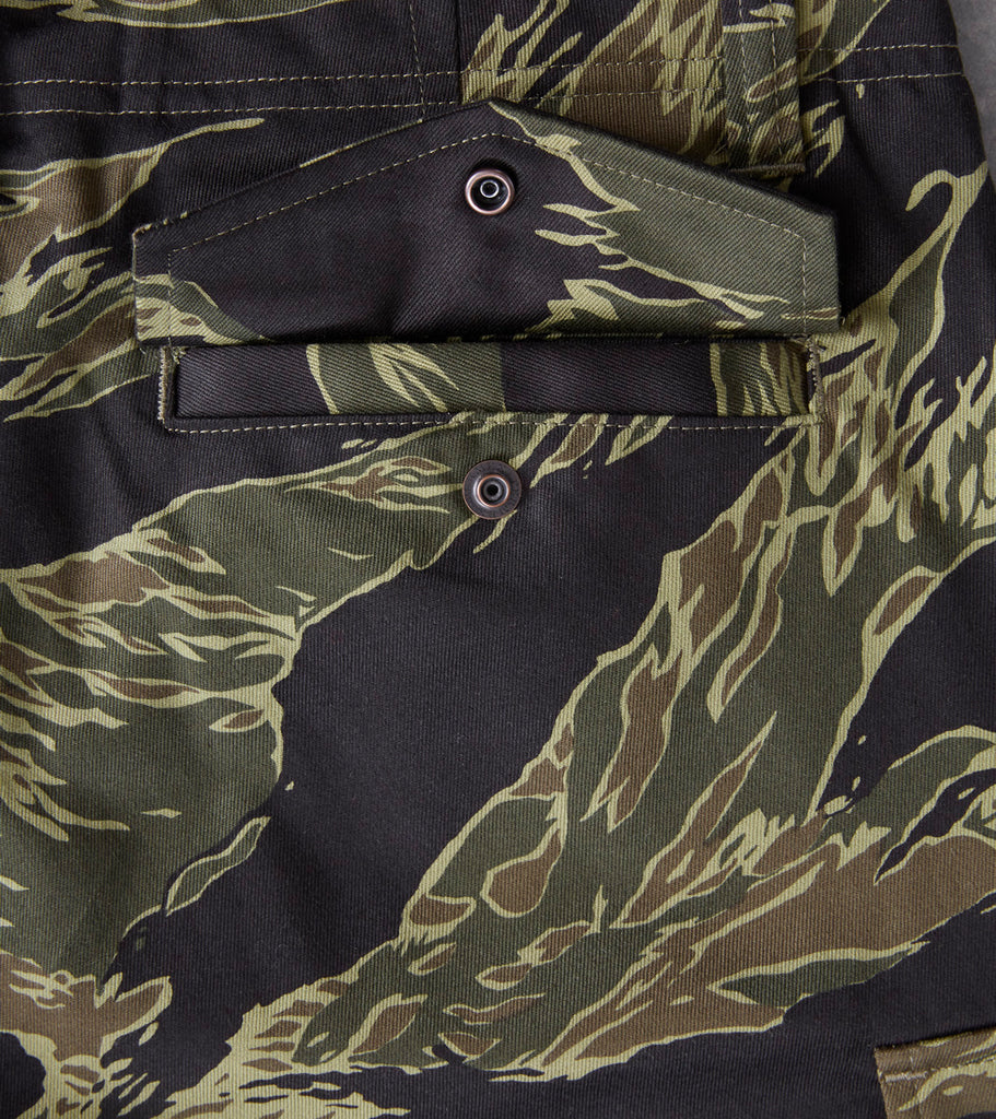 Nine Lives 9LU Military Spec Selvedge Twill Cargo - Tiger Camo - Division Road