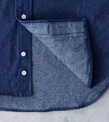 Gitman Vintage Dark Denim - 8 oz. Rinsed Indigo Division Road