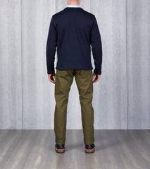 Dehen 1920 x DR Crewneck Sweater - Navy Division Road