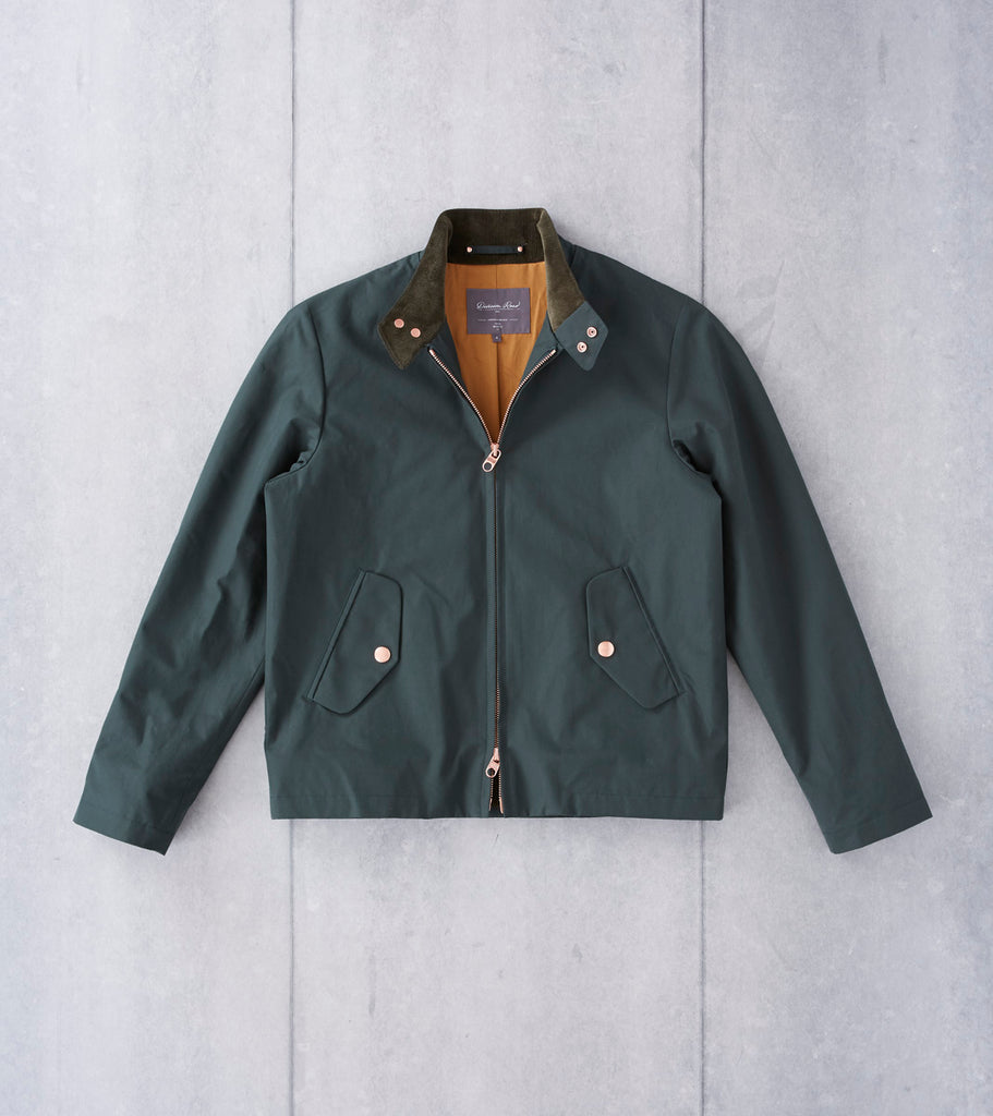 Private White V.C. Archive Ventile Harrington - Racing Green Division Road