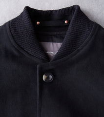 Private White V.C. Moleskin Bomber - Black Division Road