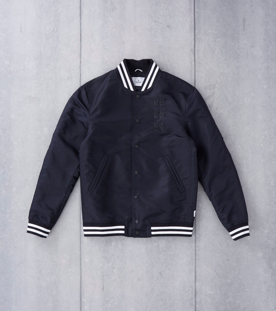 Reigning Champ x Ali™ Fight Night Stadium Jacket - Black Division Road