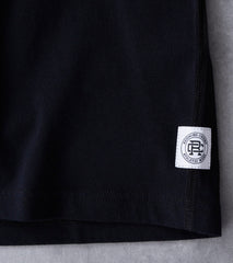 Reigning Champ x Ali™ Fight Night Short Sleeve Tee - Black Division Road