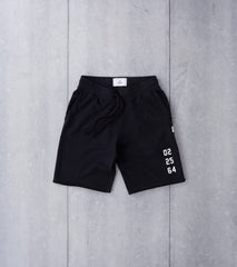 Reigning Champ x Ali™ Fight Night Cut-Off Sweatshort - Black Division Road