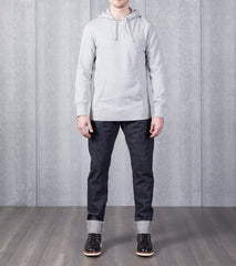 Reigning Champ Lightweight Pullover Hoodie - Heather Grey