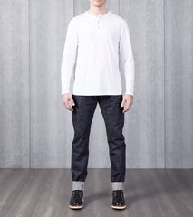 Reigning Champ Long Henley - White Division Road