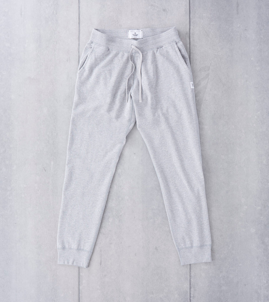 Lightweight Slim Sweatpant - Heather Grey