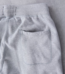 Reigning Champ Lightweight Slim Sweatpant - Heather Grey Division Road