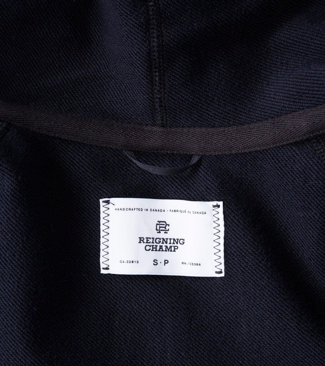 924e1e9beb ... Reigning Champ Hooded Robe - Black Division Road ...