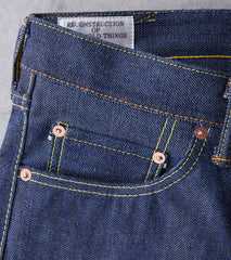 SP-031 - Relaxed Tapered 40th Gent Natural Indigo