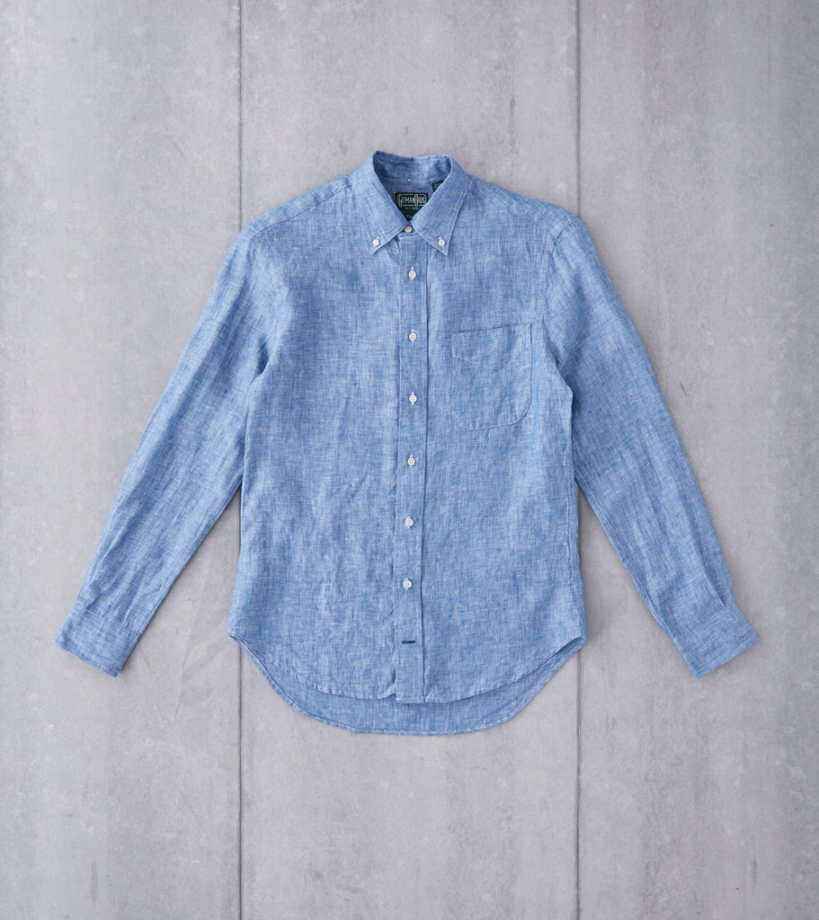 Gitman Vintage Japanese Linen Chambray Division Road