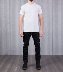 Reigning Champ Short Sleeve Tee - Heather Ash Division Road