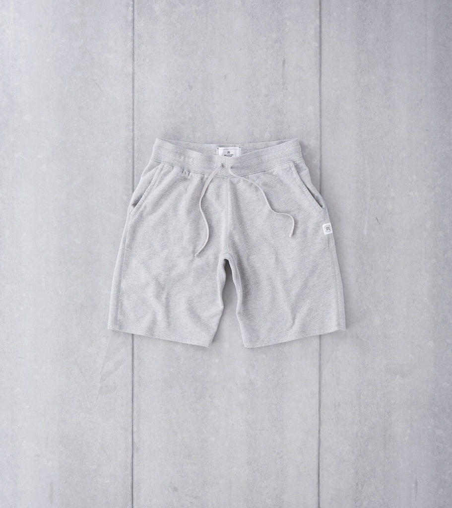 Lightweight Sweatshort - Heather Grey