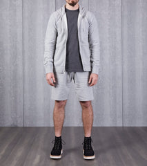 Reigning Champ Lightweight Sweatshort - Heather Grey Division Road