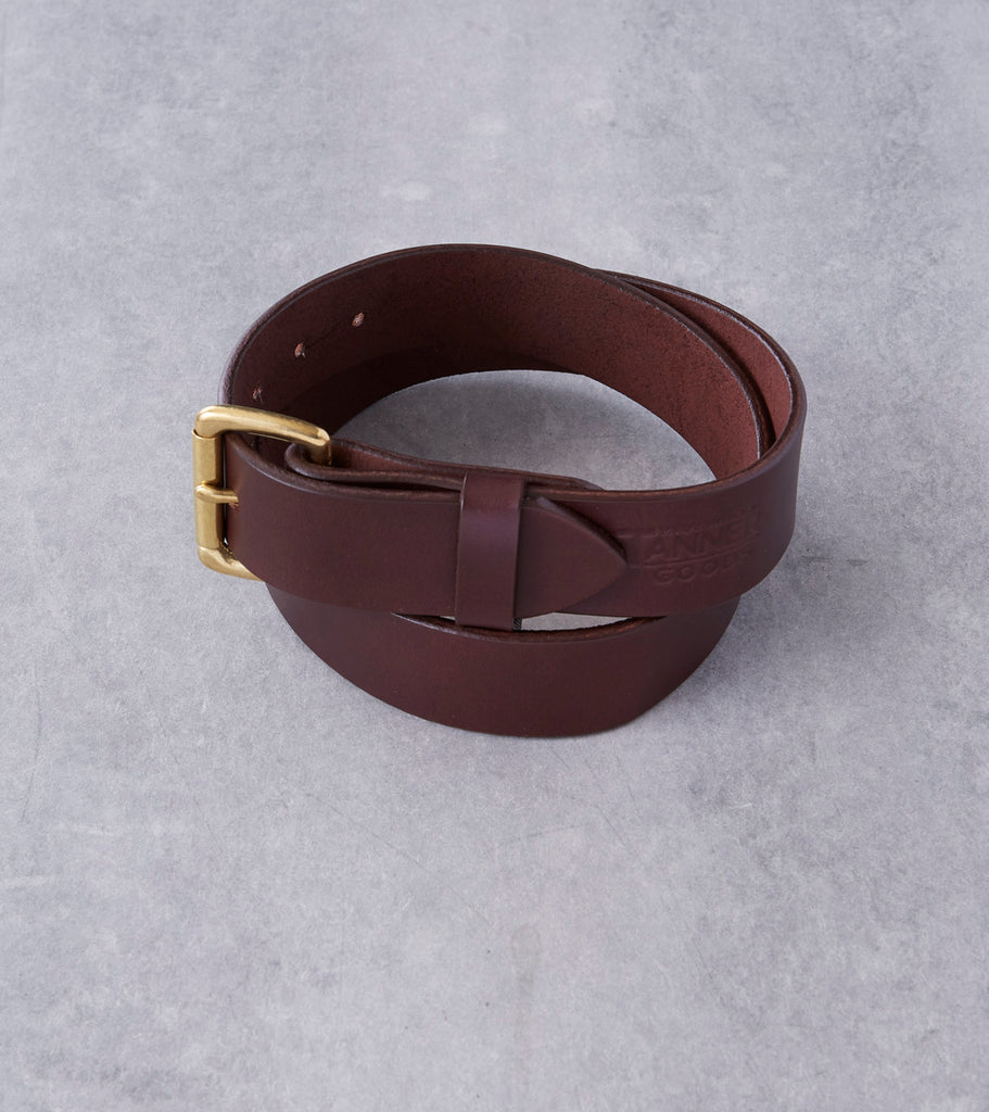 Allied Archive Project Tanner Goods Standard Belt - Brass - Havana Division Road