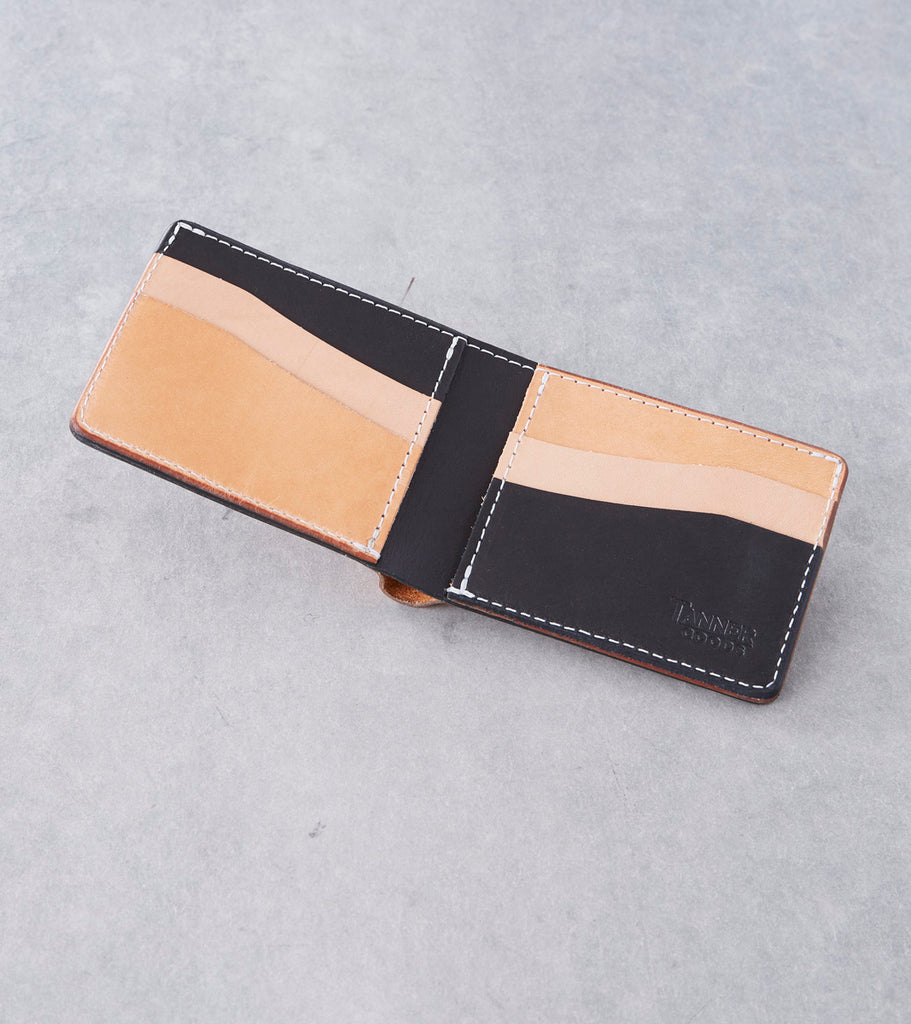 Tanner Goods - Utility Bifold - Natural Remix Division Road