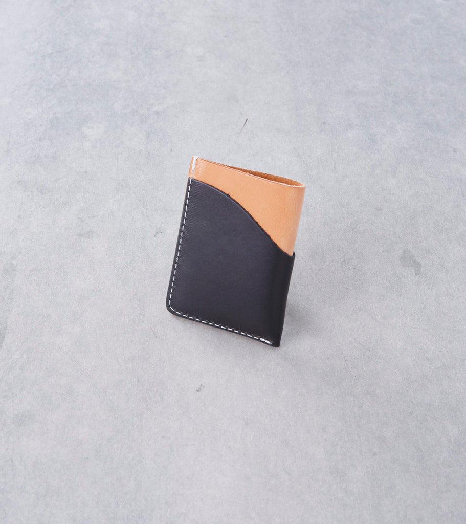 Tanner Goods - Minimal Card Wallet - Natural Remix Division Road