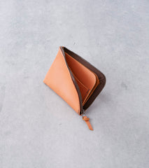 Tanner Goods - Universal Zip Wallet - Saddle Tan Division Road