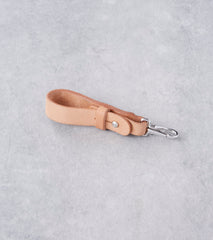 Tanner Goods Key Lanyard - Stainless - Natural Division Road