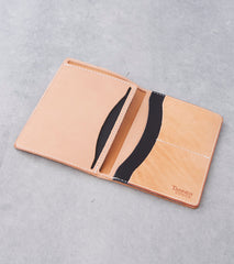 Tanner Goods - Travel Wallet - Natural Remix Division Road