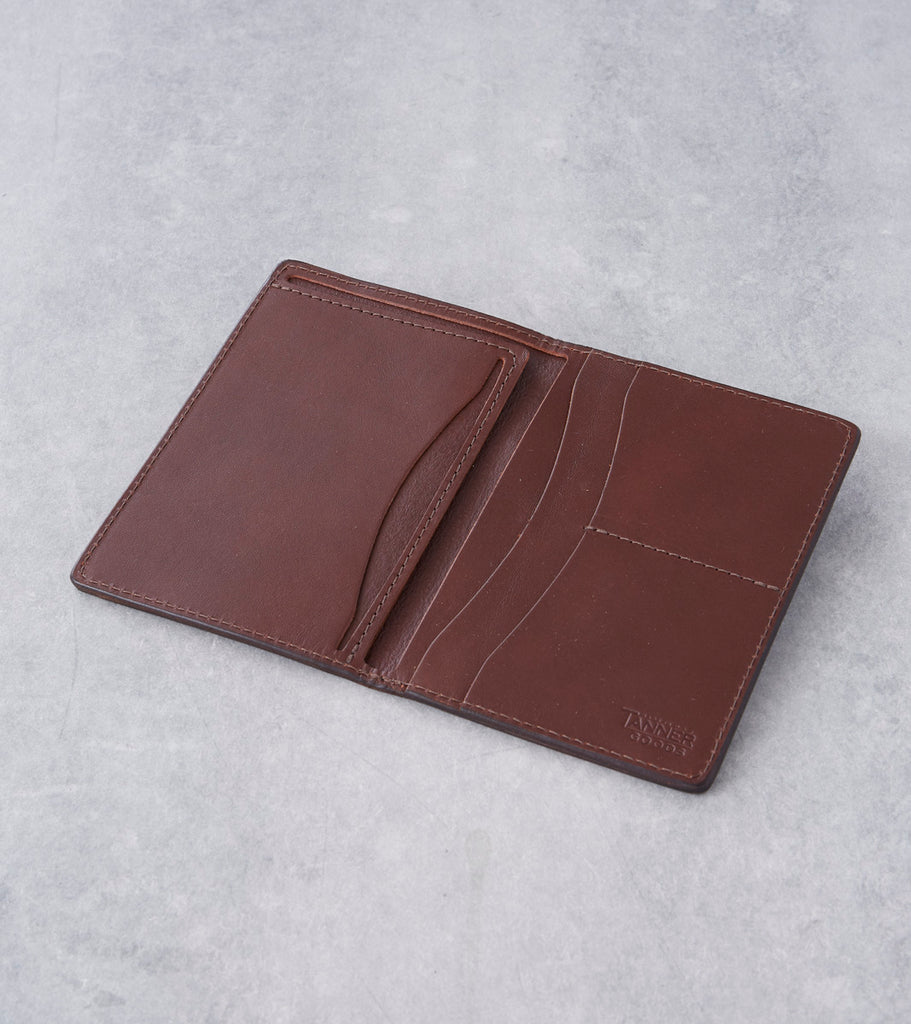Tanner Goods - Travel Wallet - Cognac Division Road