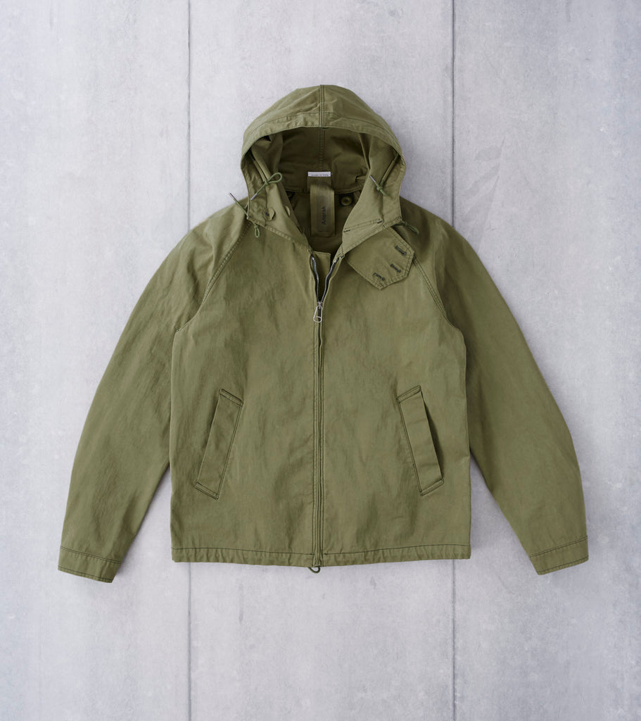 Ten C OJJ Anorak Jacket - Olive Division Road