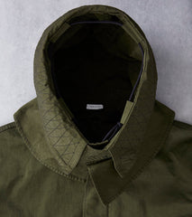 Ten C OJJ Fishtail Parka - Dark Green Division Road