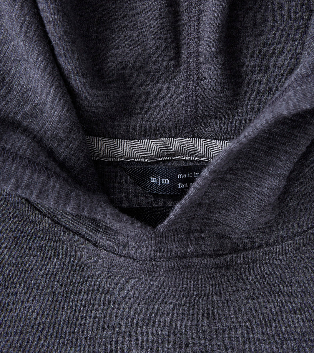 Sizing Chart With Common Left Chest Heart And Pocket: Wings+horns Base 1x1 Slub Hooded Pullover