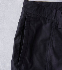 wings + horns Utility Cotton BDU Cargo Short - Black Division Road